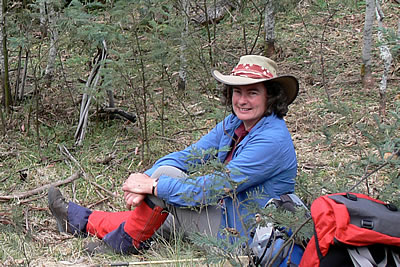 Jenny Lawrence   a guide at Gippsland High Country Tours